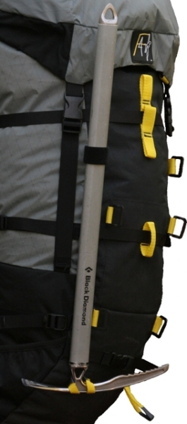 Omega Pack - ice axe attachment